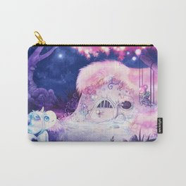 Unicorn comes home Carry-All Pouch
