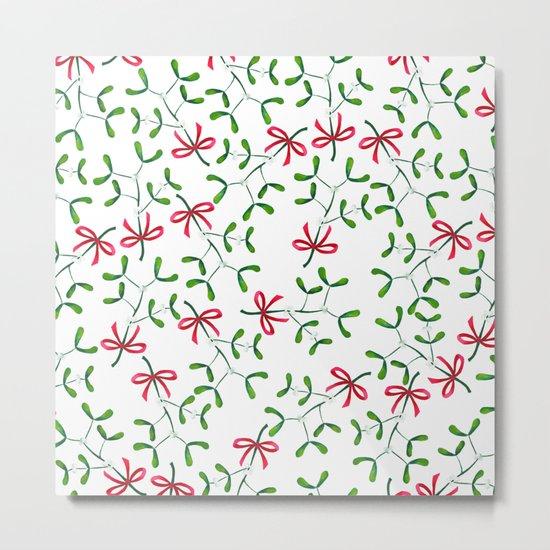 Meet Me Under The Mistletoe Metal Print By Bridgetdavidson Society6
