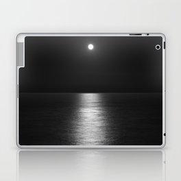 White Moon Laptop & iPad Skin