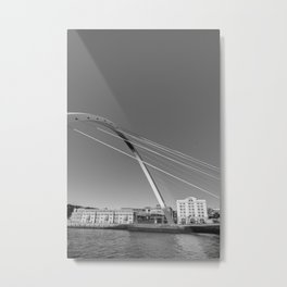 Gateshead Millennium Bridge Metal Print