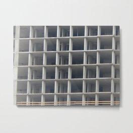 New buildings are being built residential buildings Metal Print