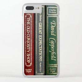 Books 2 Clear iPhone Case