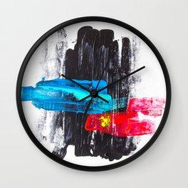Paint it black II Wall Clock
