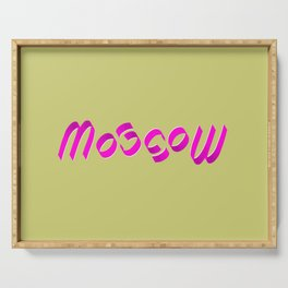 MOSCOW Lite (Ambigram) Serving Tray