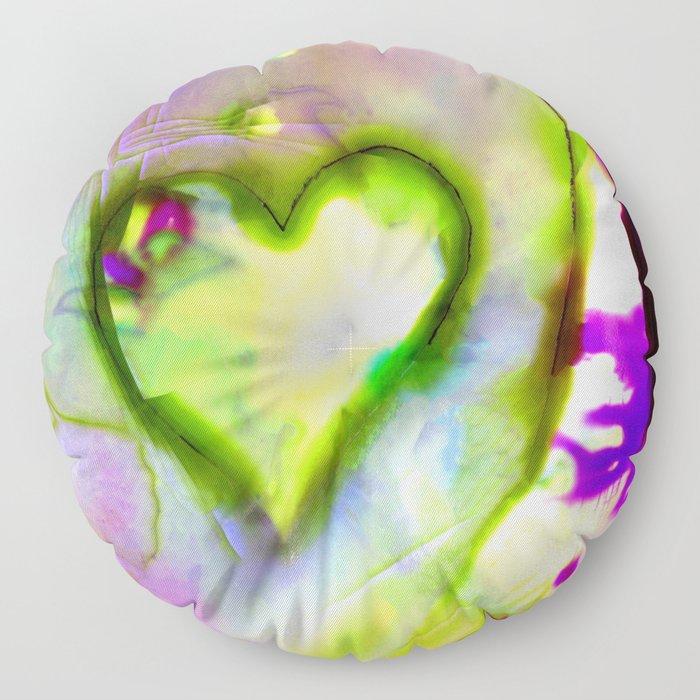 Heart Dreams 4L by Kathy Morton Stanion Floor Pillow