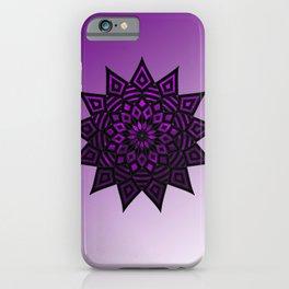 Purple Star   Tam Tam   Mandhala iPhone Case