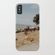 Nap Time iPhone X Slim Case