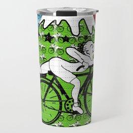 Bicycle Day Blotter Art Travel Mug