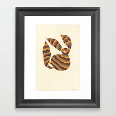 A Trifle High Framed Art Print