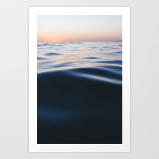 oceanic nuances Art Print