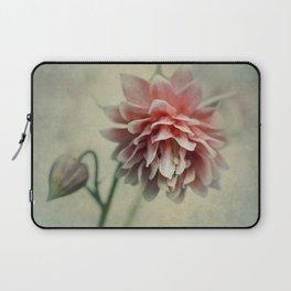 Pretty red columbine flower Laptop Sleeve