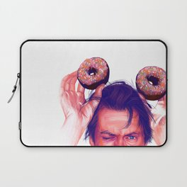 Steve Buscemi and donuts Laptop Sleeve