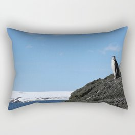 Lonely at the Top Rectangular Pillow