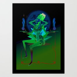 Balances Muse 3.0 Art Print