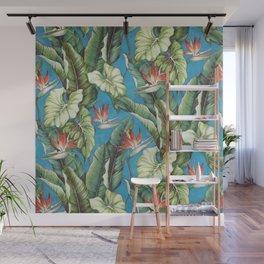 Tropical garden Wall Mural