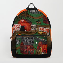 Halloween Dream Town Backpack