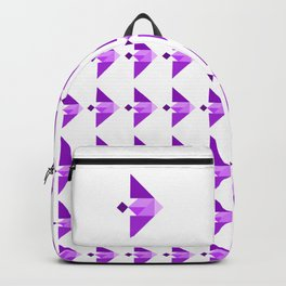 Purple Fish Backpack