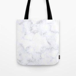 Classic Grey and White Natural Stone Veining Quartz Tote Bag