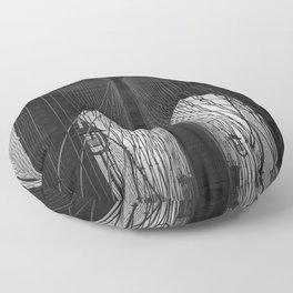 Brooklyn Bridge Floor Pillow