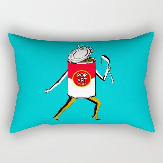 Pop Art to Go Rectangular Pillow