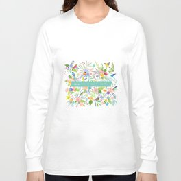 Jane Eyre - I Would Rather Be Happy Than Dignified Long Sleeve T-shirt