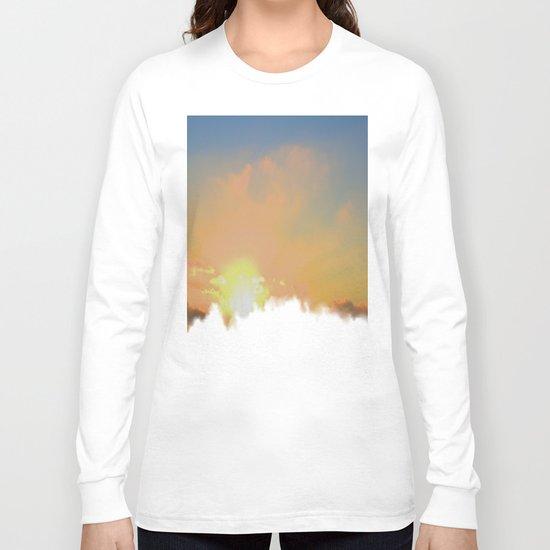 Sunset Lake Murray, La Mesa, California (Copyright) Long Sleeve T-shirt
