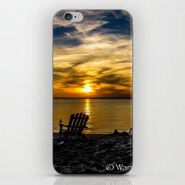 Sunset on the Chesapeake #2 iPhone Skin