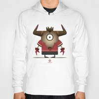 taurus Hoodies featuring TAURUS by Angelo Cerantola