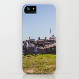 Hoffman Farm, Streeter, ND iPhone Case