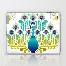 Indian Blue Peacock [Pavo Cristatus] Laptop & iPad Skin
