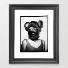 mama bear Framed Art Print