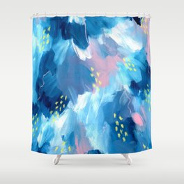 Blue Aesthetic #1 Shower Curtain