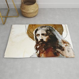 Shalom Aleichem/Peace Be With You Rug