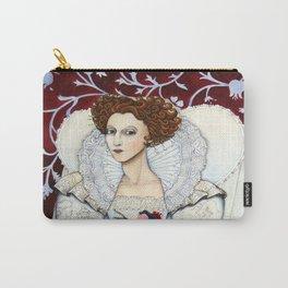 Elizabeth, the Virgin Queen, Queen of Hearts Carry-All Pouch