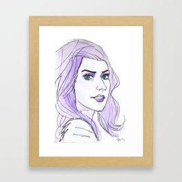 E Frost Framed Art Print