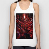 witchcraft Tank Tops featuring Witchcraft by Gyossaith
