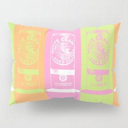 All the Colors of the White Claw - Pop Art Pillow Sham
