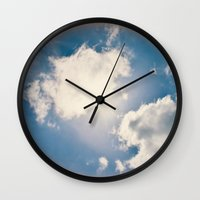 halo Wall Clocks featuring Halo by RDelean