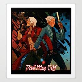 DMC - Brothers Art Print
