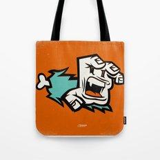 Screaming Paw Tote Bag