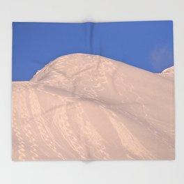 Back-Country Skiing - 7 Throw Blanket