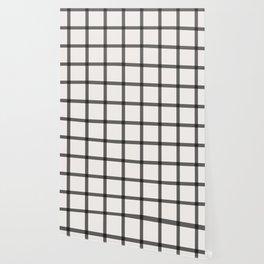 black and white plaid Wallpaper