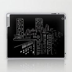 City nights, city lights Laptop & iPad Skin