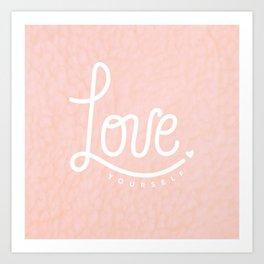 Love Yourself Graphic Art Print