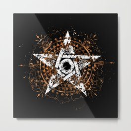 Frantic Star Metal Print