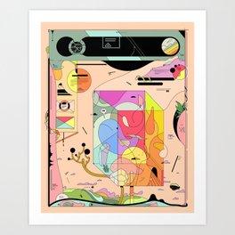 Pfpfpfpf Art Print