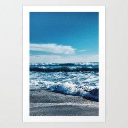 Oceanside Beach I Art Print