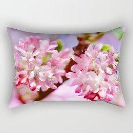 Spring pink 089 Rectangular Pillow