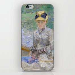 Summer's Day by Berthe Morisot iPhone Skin