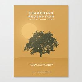 The Shawshank Redemption, 1994 (Minimalist Movie Poster) Canvas Print